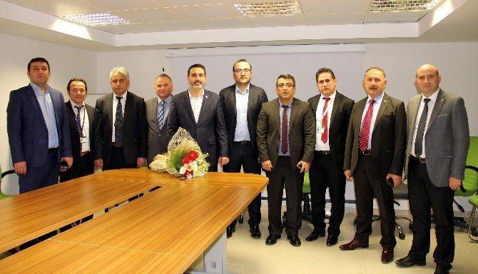 Cankeser, Kastamonu Havalimanı'nı Ziyaret Etti