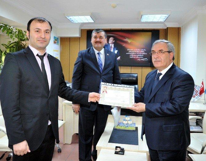 Bilecik Valisi Nayir'dan İş-kur'a Ziyaret Ve Başarı Belgesi Takdimi