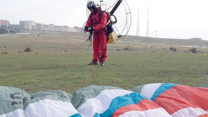 Radar mevkiinde yamaç paraşütü için çalışma başlatıldı