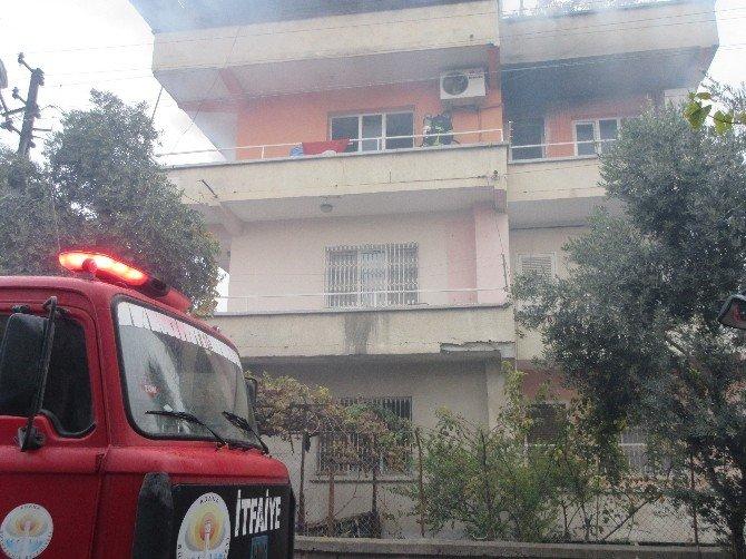 Ceyhan'da Ev Yangını