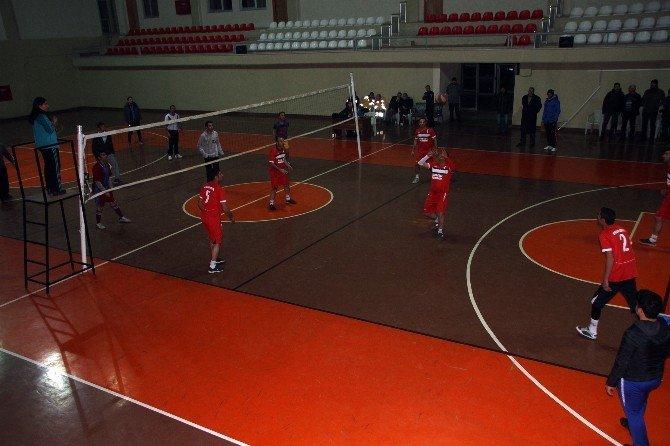 Diyadin'de Voleybol Turnuvası