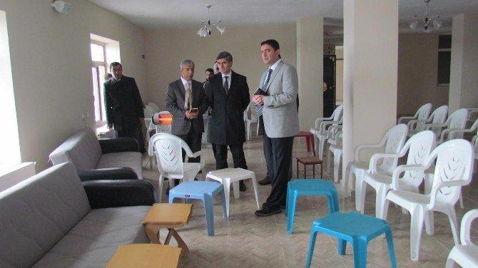 Kaymakam Tekbıyıkoğlu Ovakışla'daki Yatırımları İnceledi