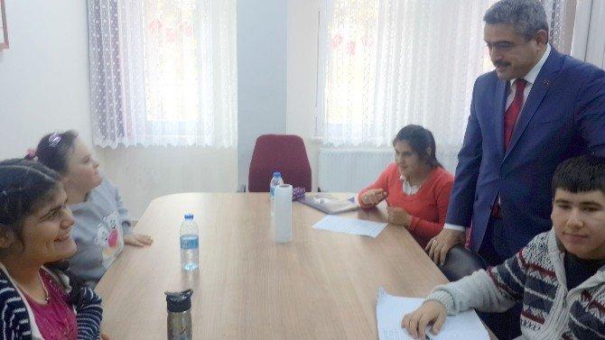 Alıcık'tan Güzelköy Özel Eğitim Ve İş Uygulama Merkezine Ziyaret