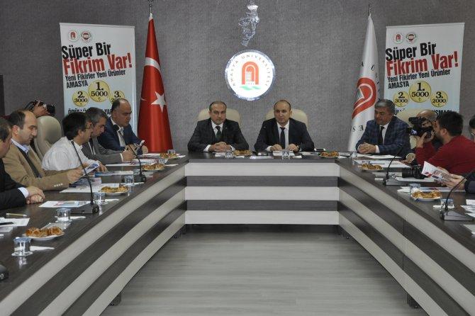 Amasya Üniversitesi Rektörü, sanayi esnafını ödüllü proje yarışmasına davet etti