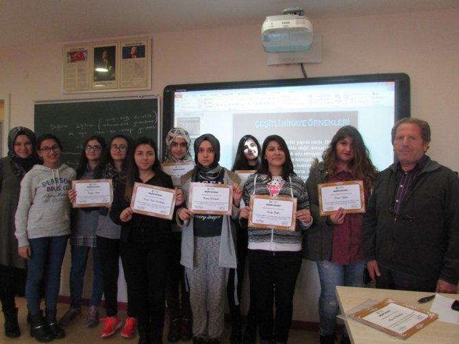 Toroslu öğrencilere yazarlık kursu eğitimi