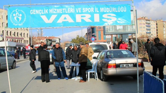 'Atatürk'ü Anma Kros Yarışması'nda zor anlar yaşandı