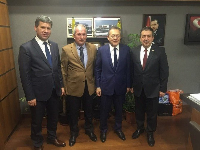 Balıkesir AK Parti Ankara'ya Çıkarma Yaptı