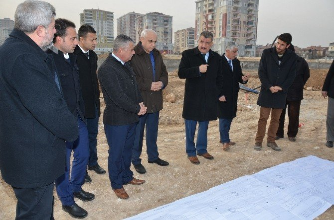 Başkan Selahattin Gürkan, Trafik Parkta İncelemede Bulundu