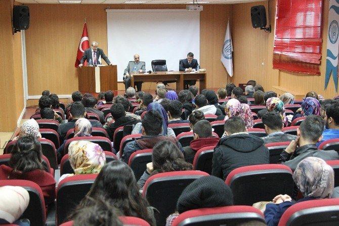 BEÜ'de İstiklal Marşı'nın Kabulü Ve Mehmet Akif Ersoy'u Anma Paneli