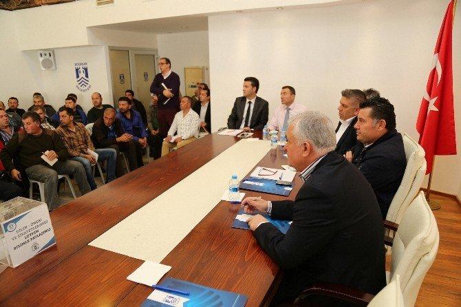 Bodrum Belediyesi Aralık Ayı Muhtarlar Toplantısı Yapıldı