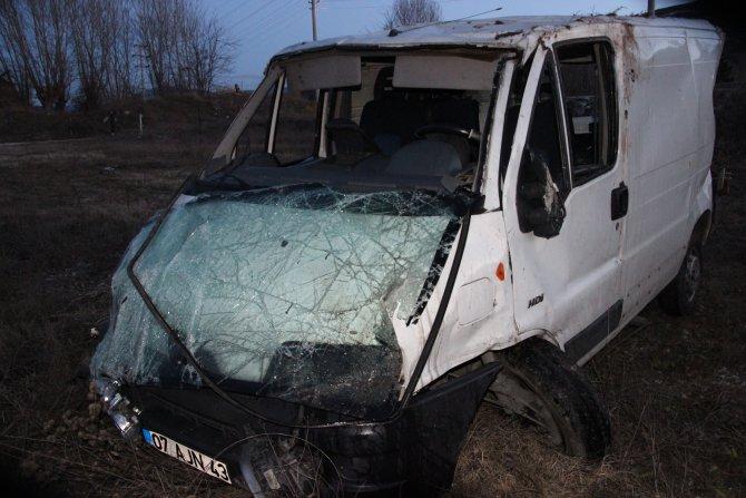 Çankırı'da kaza: 1 ölü, 4 yaralı