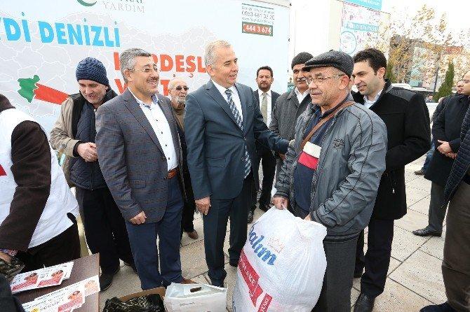 Denizli'den Bayırbucak Türkmenleri'ne Yardım