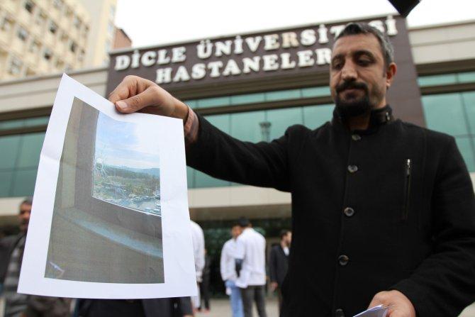 Diyarbakır'daki hastanelere 2 haftada 16 kurşun isabet etti