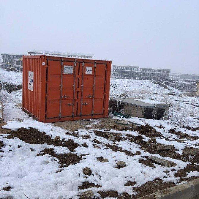 MŞÜ Kampüsüne AFAD Konteyneri Teslim Edildi