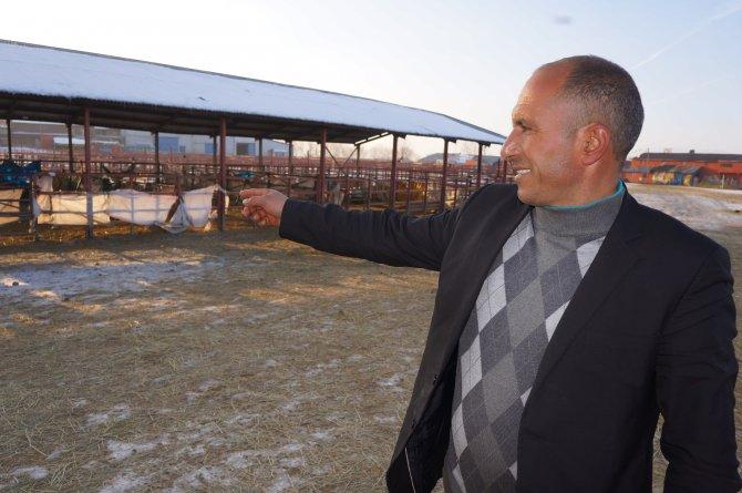 Erzurum hayvan pazarı şap nedeniyle kapatıldı