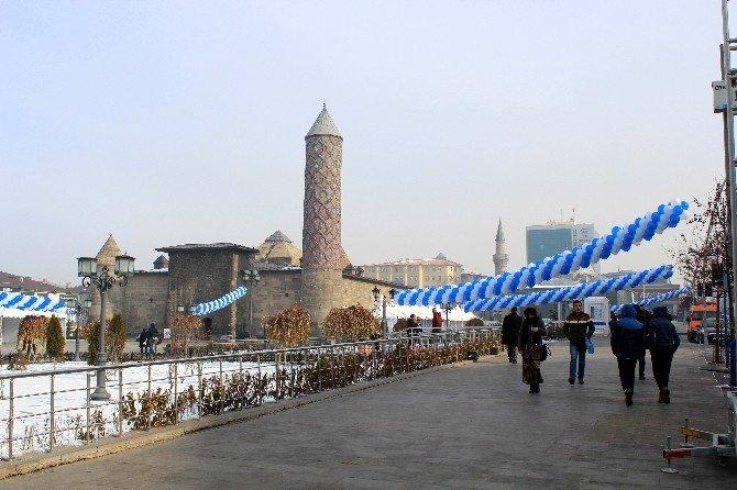 Erzurum'da Wınterfest Hazırlıkları Sürüyor
