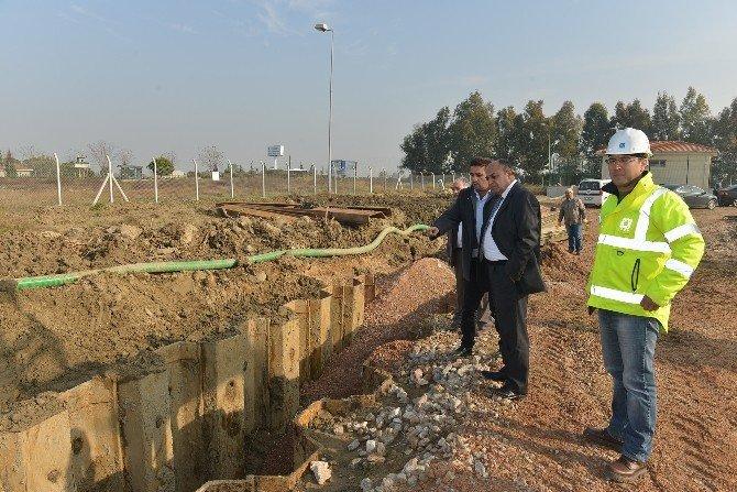 Sasalı'da Kanal Sorunu Çözülüyor