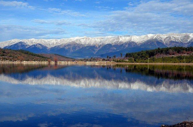 """Marmara'nın """"Uzun"""" Gölü Turistlerin Yeni Gözdesi Olacak"""