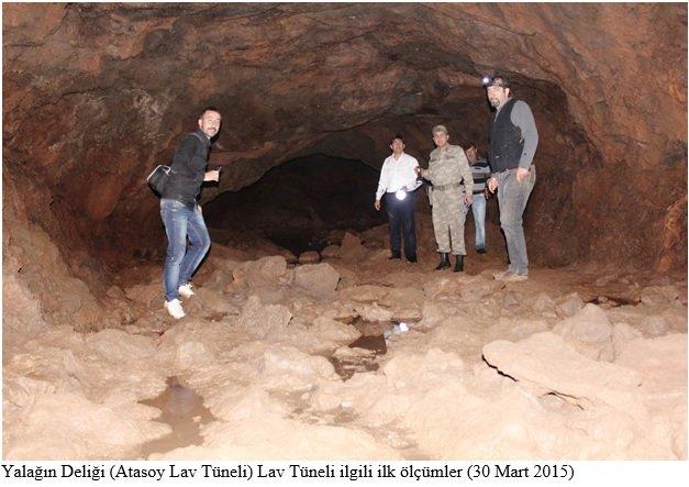 Türkiye'nin ilk lav tünelleri Hatay'da keşfedildi