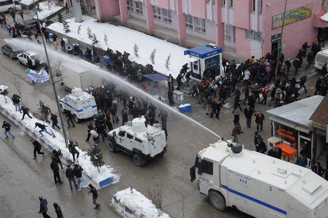 HDP'nin Yürüyüşüne Polis Müdahalesi