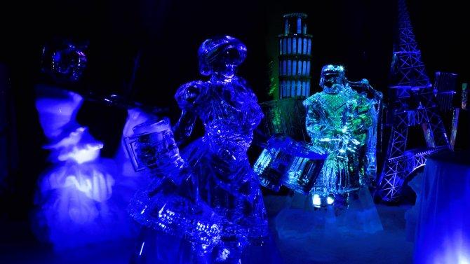 Semazenler buz festivalinde