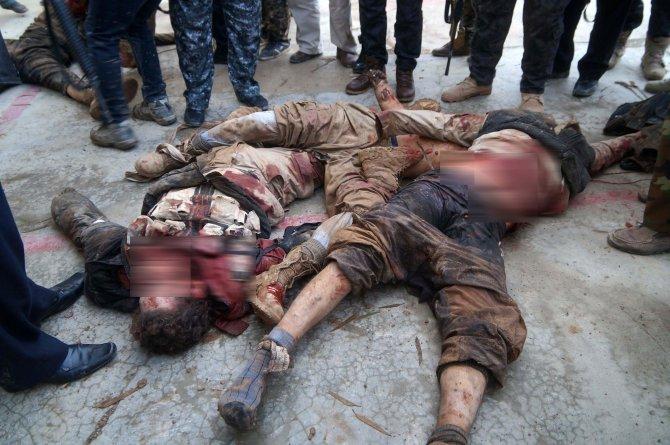 Kerkük'te 15 IŞİD militanı öldürüldü