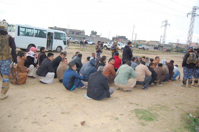 Kerkük'te huzur operasyonu: IŞİD üyesi 10 kişi gözaltına alındı