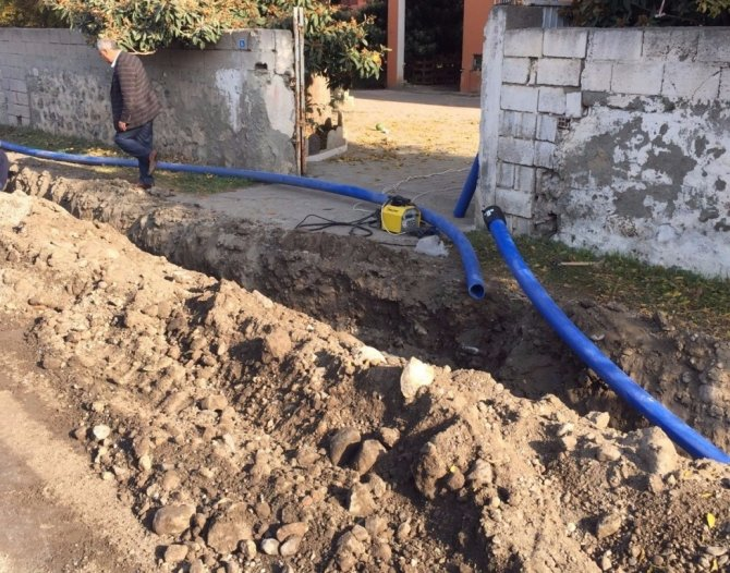 Dörtyol'un içme suyu hatları yenileniyor