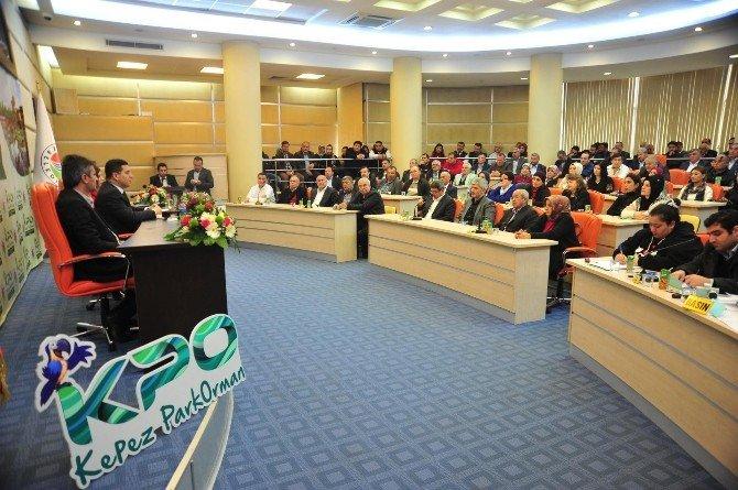 Başkan Tütüncü, Kepez Park Orman Projesini Tanıttı