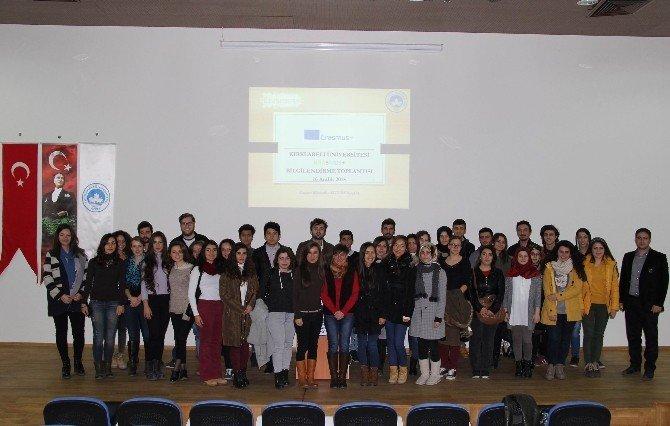 KLÜ'de 2. Erasmus Bilgilendirme Toplantısı