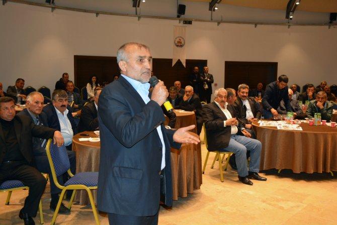 Kozan'da muhtarlarla istişare toplantısı düzenlendi