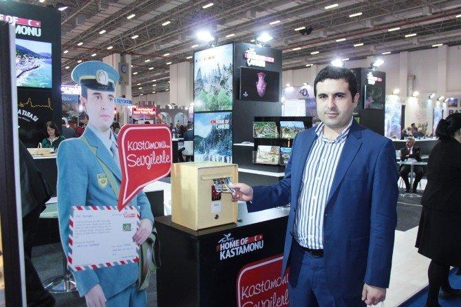Kuzka, Travel Turkey Fuarında 3 Bin Karpostal Kart Dağıttı