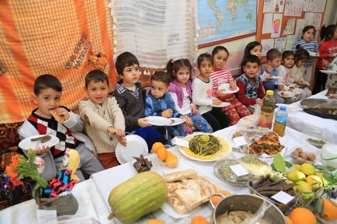 Milaslı Minikler Yerli Malı Haftası'nı Kutladı