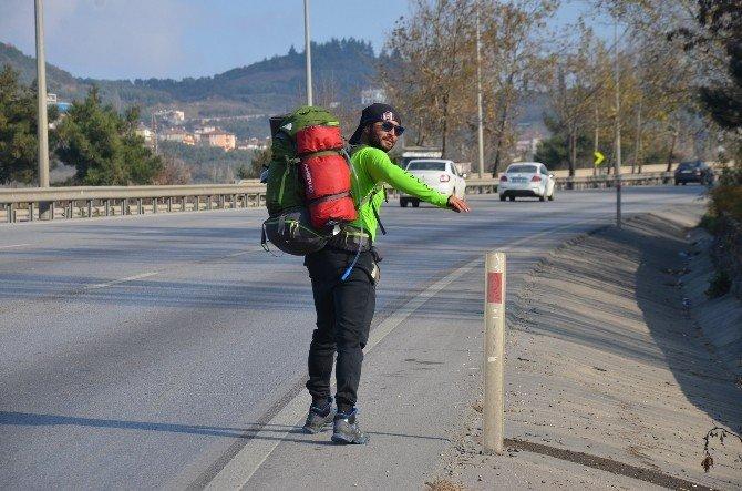 Lösemi Hastaları İçin Bin Kilometre Yürüyecek