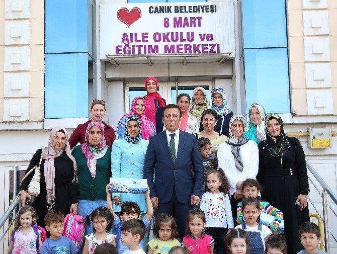 Canik'ten Aileye Tam Destek