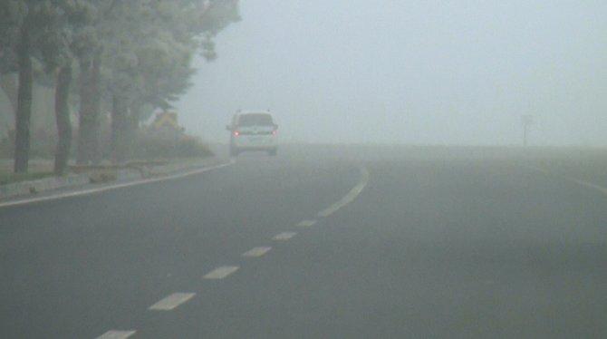 Bor'da yoğun sis hayatı olumsuz etkiliyor