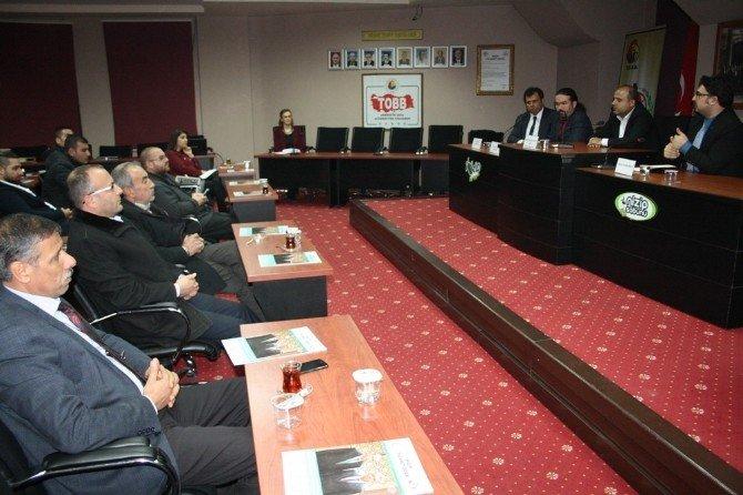 Nizip Ticaret Odası'nda Fon Kaynaklarına Erişim Semineri Düzenlendi.