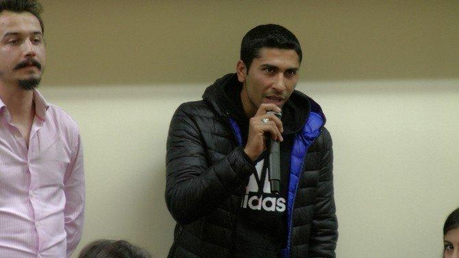 Öğrencileri Sordu, Kaymakam Ve Belediye Başkanı Cevapladı