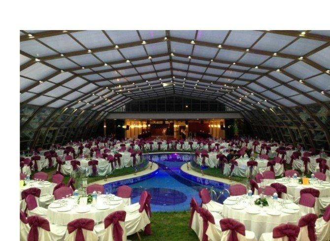 Çerkezköy'de Kapalı Düğün Salonu Yapılacak