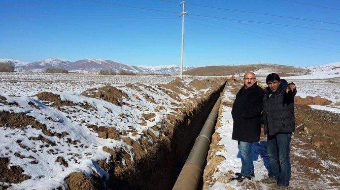 Demirözü Sulaması Projesi'nde Sona Yaklaşılıyor