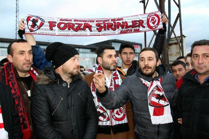Taraftarlardan Samsunspor'a Destek Yürüyüşü