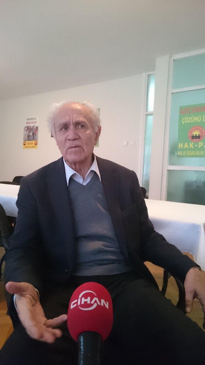 Kemal Burkay: Hükümet Öcalan'ı fazla büyüttü, sihirli değnek gibi gördü