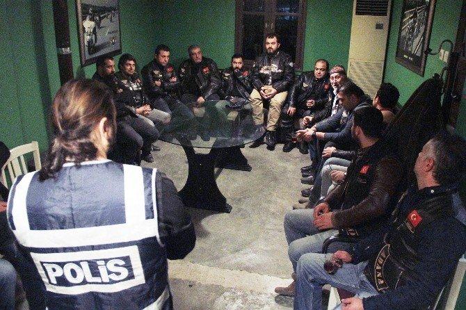 Türk Rıders Chopper Club Üyeleri Dolandırıcılık İle İlgili Bilgilendirildi