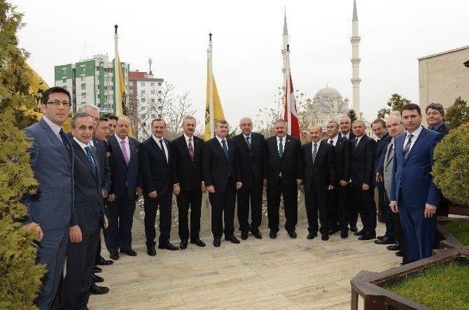 Sanayicilerden Başkan Akyürek'e Ziyaret