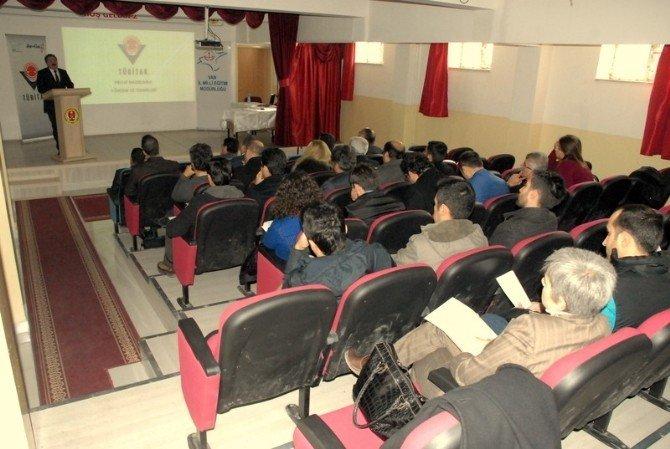 Tuşba'da 47. TÜBİTAK Proje Yarışmaları Hazırlığı