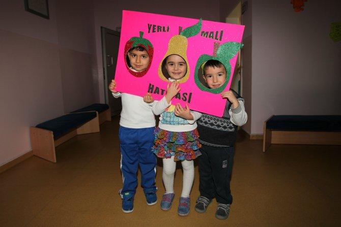 Minikler, Yerli Malı Haftası kutladı