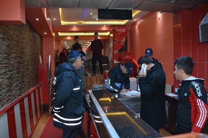 Ardahan Belediyesi Zabıta Müdürlüğü Lokanta Ve Restoranları Denetledi