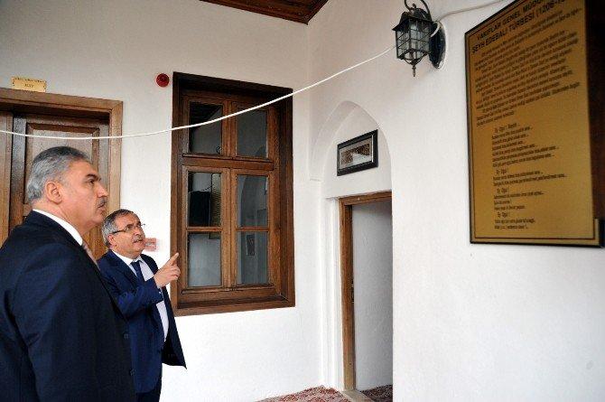 Uşak Valisi Okur'dan Bilecik Valisi Nayir'a Ziyaret