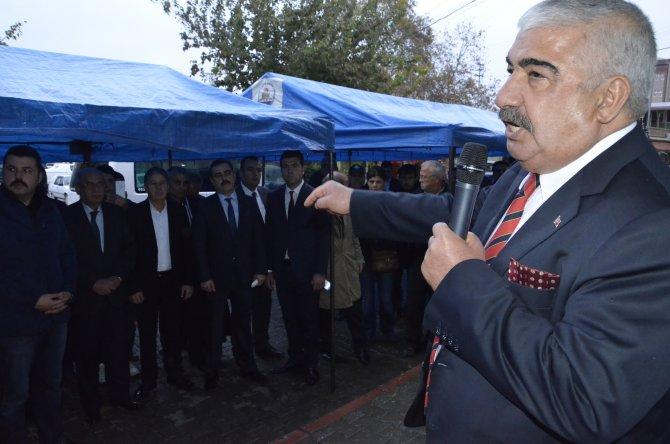 Kozan Belediyesi'nin Türkmenlere yardım konvoyu yola çıktı