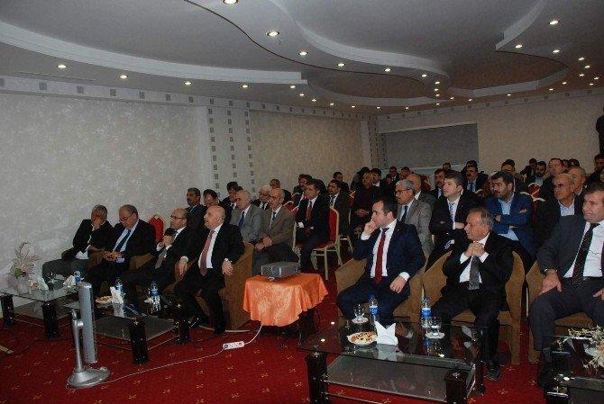 Adıyaman Sanayi Geliştirme Merkezi Çalıştayı Düzenlendi